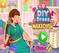diy dress makeover game