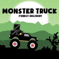 monster truck forest